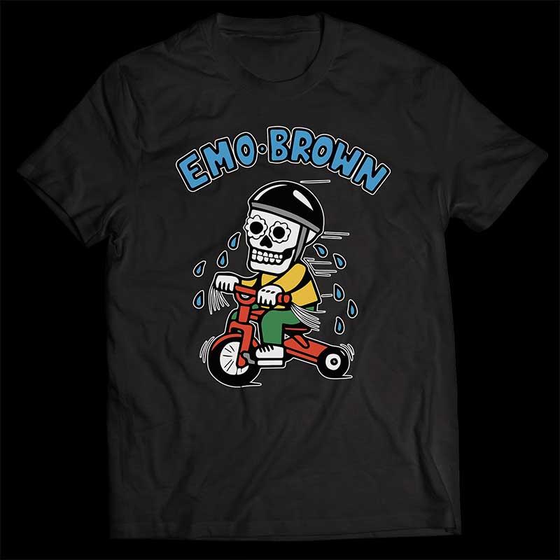 Emo Brown Shirt 2